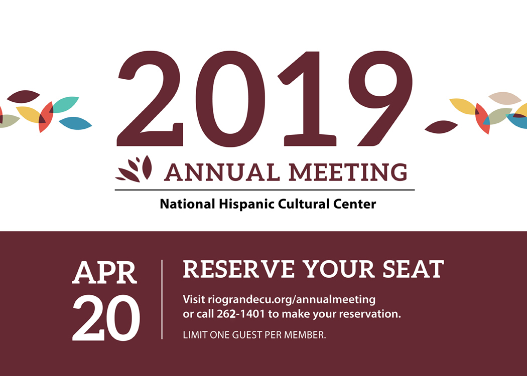Annual Meeting 2019 - Rio Grande Credit Union