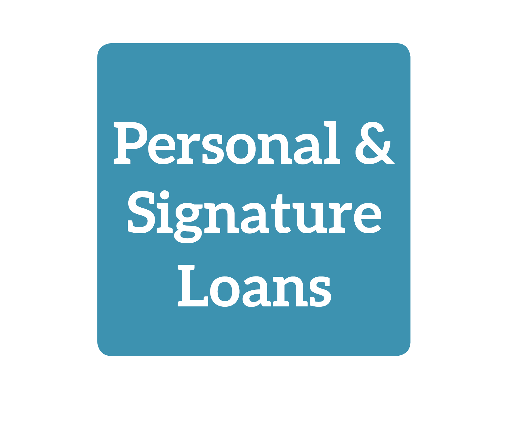 Personal & Signature Loans